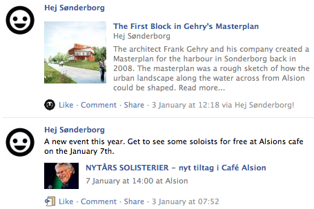Follow Hej Sonderborg on Facebook